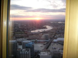sunset view from Sydney Tower. , karen h - March 2011
