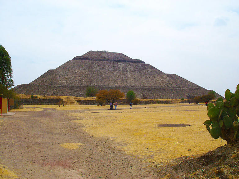 Teotihuacan, Sun pyramid - Mexico City