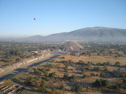 Photo of Mexico City Teotihuacan Pyramids Hot-Air Balloon Tour The Moon