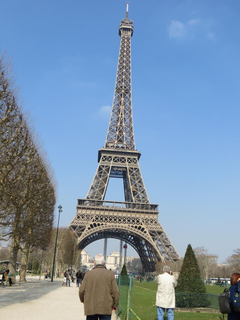 The tower on a lovely day - Paris