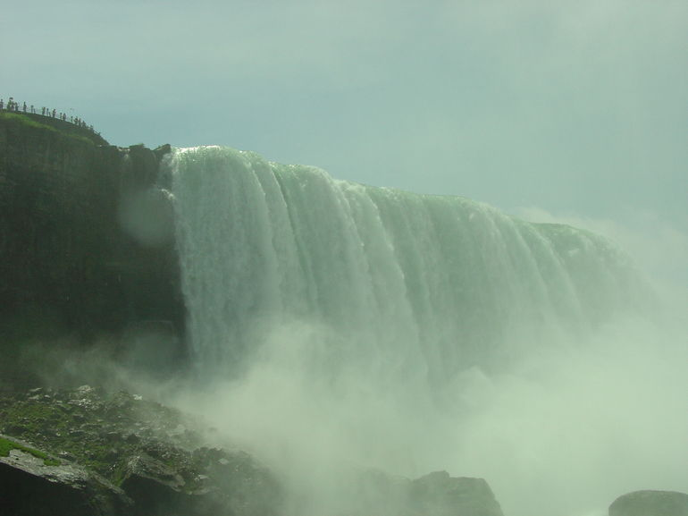 U S Falls from Hornblower Cruise, Niagara Falls