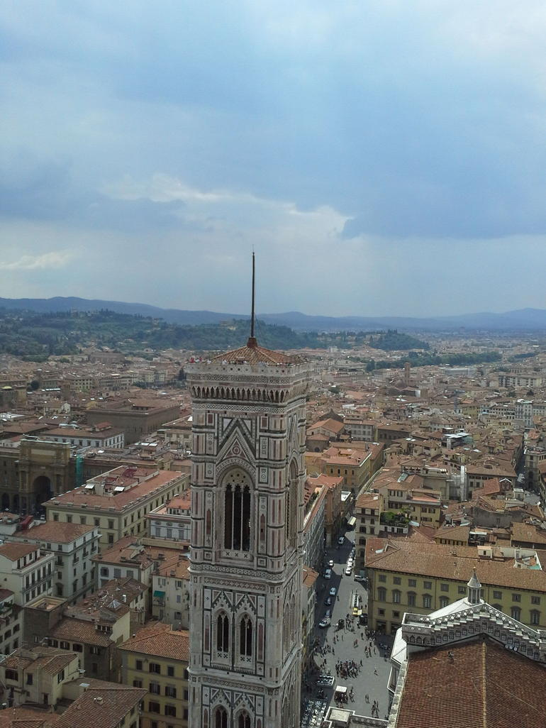 View from atop Brunischelli's Dome - Florence