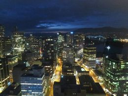 Totally worth to return at night to the Vancouver Lookout. , Carolin H - November 2015