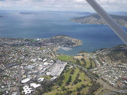 Flying in the sky over Hobart! , ELIZE Y - January 2015
