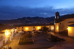 Photo of Cusco Cusco Night Walking Tour and Pisco Sour Lesson View up on the hill