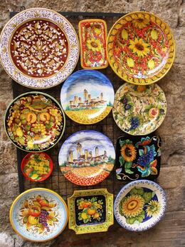 Photo of Florence Siena and San Gimignano Day Trip from Florence You have to buy the pottery