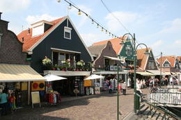 The wonderful village of Volendam. An enjoyable opportunity to browse , share a coffee and a local pancake! , Warwick B - September 2012