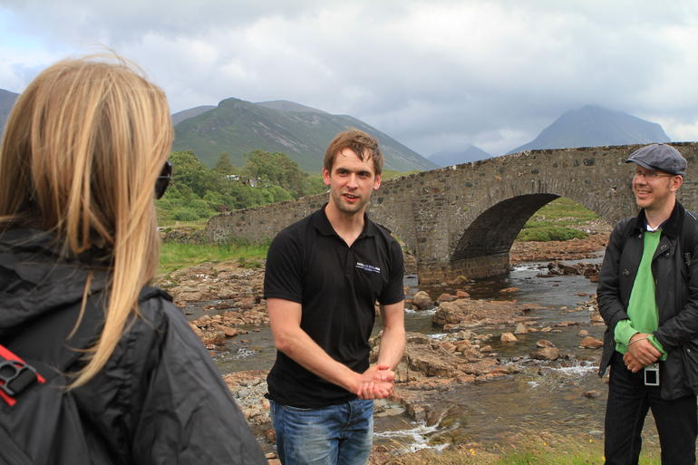 Colin - our tour guide - The Scottish Highlands