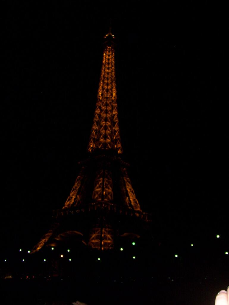 Eiffel Tower at night - Paris