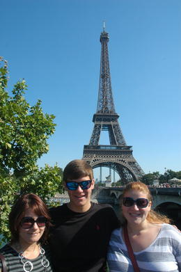 Our 3 children on their first visit to Paris with us. , David P - August 2013