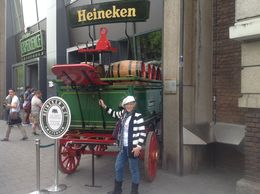 Me out front of Heineken , Petra A - July 2015