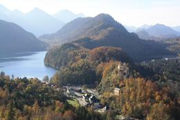 Photo of Munich Royal Castles of Neuschwanstein and Linderhof Day Tour from Munich Hohenschwangau at a distance