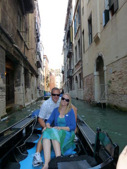 The highlight of the tour was the gondola ride. My husband and I loved relaxing and taking in all the beauty of Venice. , Jennifer S - August 2011