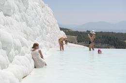 Photo of Izmir Pamukkale and Hierapolis In the pool