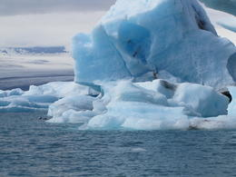 iceberg on lagoon , Terese J - July 2013