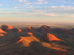 The view from the helicopter over Kata Tjuta. , Kevin F - June 2014