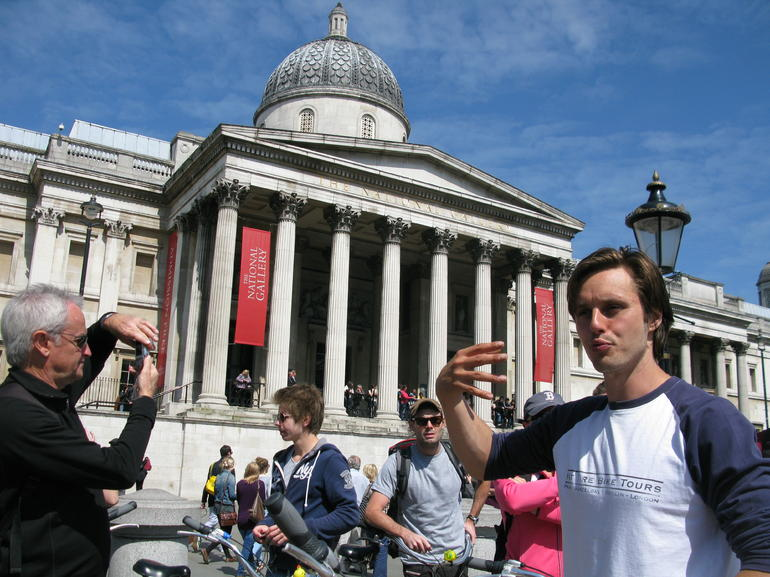 Matt at Trafalgar - London