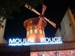 Great show at the Moulin Rouge, no pics from inside allowed. , PETE - August 2012