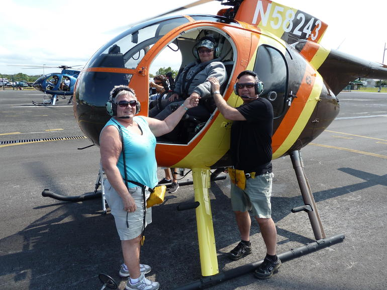 Thaks after a great flight - Big Island of Hawaii