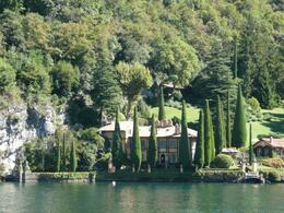 Photo of Milan Lake Como Day Trip from Milan Typical Tuscany trees