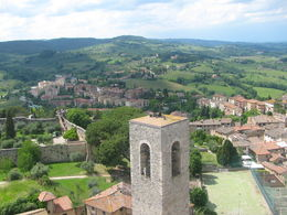During free time in San Gimignano, we climbed Torre Grossa. , Karen D - June 2016