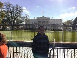 Finally saw the white house for real. , ALWYN - December 2015
