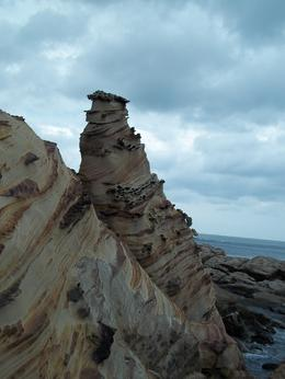 I think they called this ice cream rock. Looks like an ice cream swirl, Darin G - October 2010