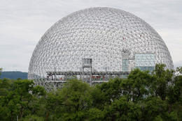 Biosphere in Montreal, Canada - December 2011