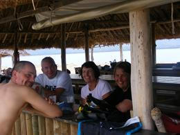 Photo of Fiji Fijian Islands and Snorkel Full-Day Whales Tale Cruise including Beach BBQ Lunch Larry, Helen, Craig & Steph