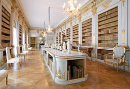 Library in Drottningholm Palace, Sweden - November 2011