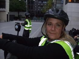 Kellie- just checking the helmet for a perfect fit, Teresa B - October 2009