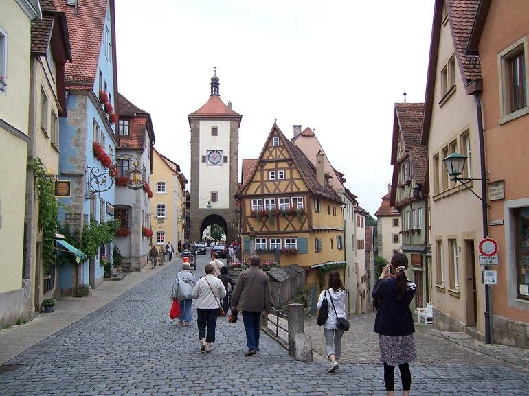 Main Street in Rothenburg - Munich