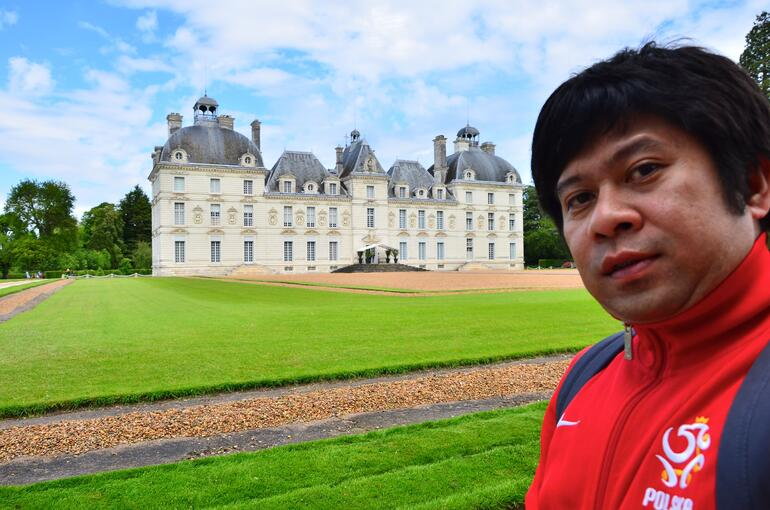 Me in Cheverny - Paris