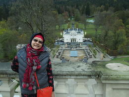 Photo of Munich Royal Castles of Neuschwanstein and Linderhof Day Tour from Munich My wife @ Linderhof