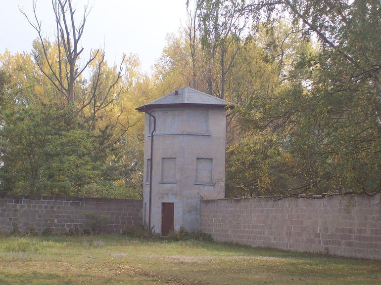 Outer wall of camp - Berlin