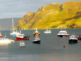 Photo of Edinburgh 3-Day Isle of Skye Small-Group Tour from Edinburgh Portree hamn