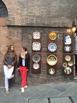 First stop, Siena. amazing square, facts and ceramic. , Anais B - June 2016