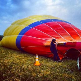 Photo of Melbourne Yarra Valley Balloon Flight at Sunrise Still Setting up.