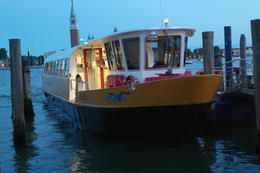 Photo of Venice Venice Islands Sunset Cruise with Prosecco and Appetizer The taxi ship of the sunset cruise.