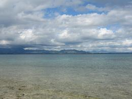 A view of the mainland taken from the island - July 2009