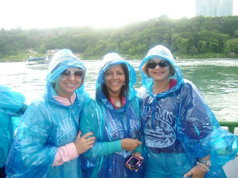 with my friends in the falls - New York City
