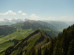 A view from the top Towards Mount Titlis , Nidale T - June 2014