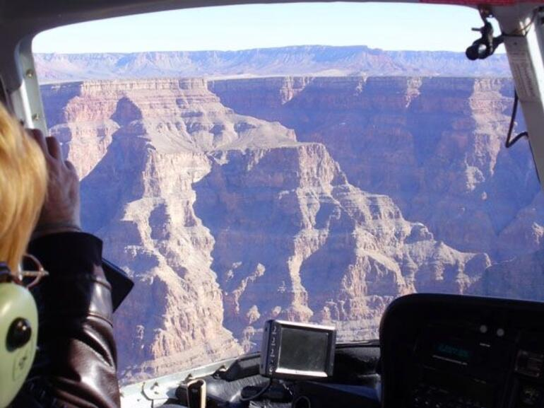 Arriving in the canyon - Las Vegas