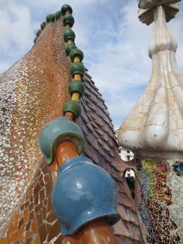 Style and grace, nature and beauty. Gaudi is a master at it all! , JANET H N - October 2013