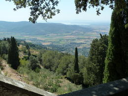 View of Lake Trasimeno from Cortona , THOMAS V - August 2012