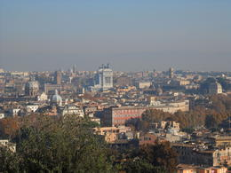 From the top of Gianicolo Hill , Carolina V - December 2011