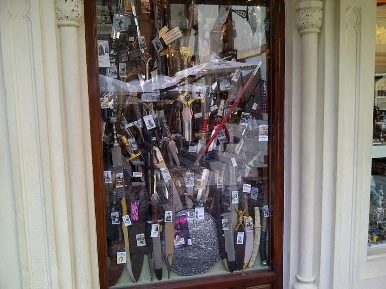 Famous knives of toledo - Madrid