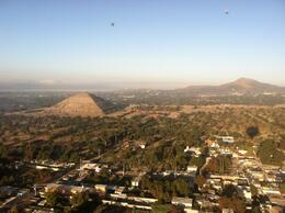 Photo of Mexico City Teotihuacan Pyramids Hot-Air Balloon Tour Gorgeous view of the Sun