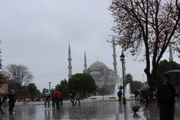External view of the Hagia Sophia. , Tiny Traveler - October 2013