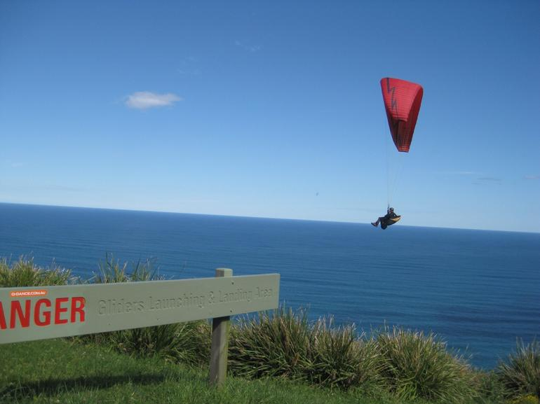 Hang Glider Danger Bald Hill -